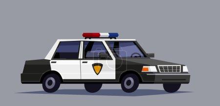 police black car