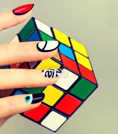 Funky fingers nail polish