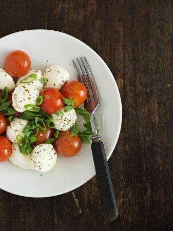 Mozzarella and Tomatoes Salad