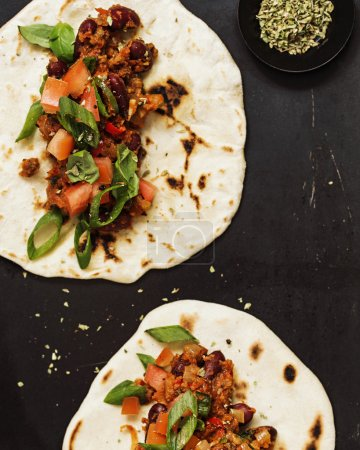 Healthy Vegetarian Tortillas