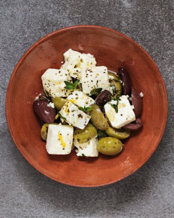 Feta and Olives Tapas