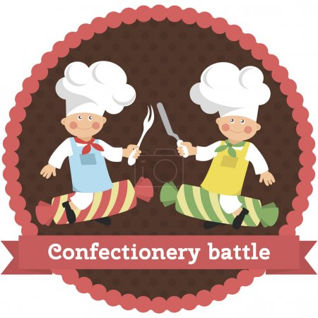 Logo confectionery battle
