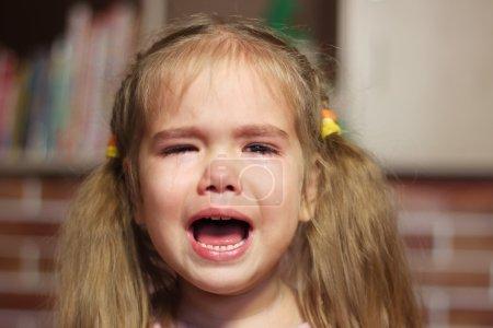 Emotional Child Portrait