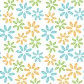 Bezešvé pattern colorfull Mušle Slávky jedlé květiny