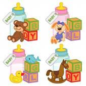 Hračky a doplňky pro holčičky a kluky