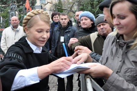 Yulia Tymoshenko on a visit to Chortkiv_3