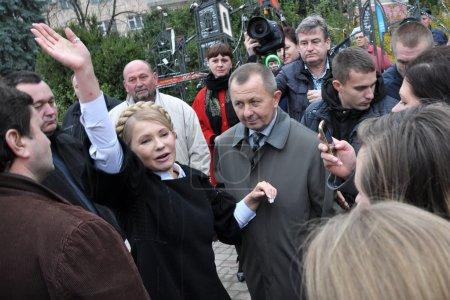 Yulia Tymoshenko on a visit to Chortkiv_5