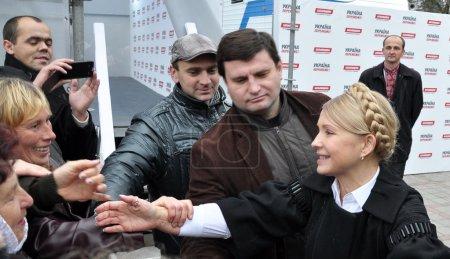 Yulia Tymoshenko on a visit to Chortkiv_6