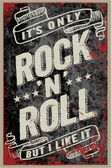 Rock and Roll Style - Vintage posters
