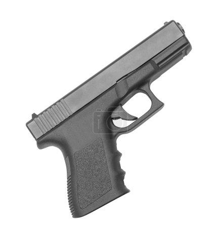 automatic hand gun