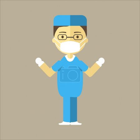 Man Surgeon Icon