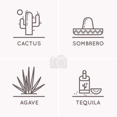 Mexico culture set 1