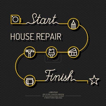 House repair poster.