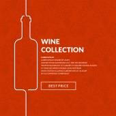 Vector wine list