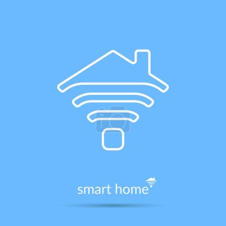 Smart home icon.