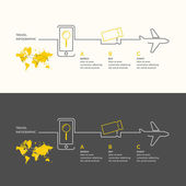 Travel infographics Buy air tickets