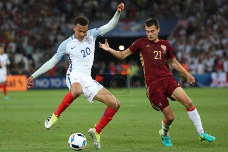 EURO 2016 - FRANCE 4 - MATCH BETWEEN ENGLAND VS RUSSIA