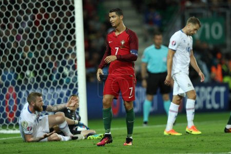 EURO 2016 - FRANCE 10 MATCH BETWEEN PORTUGAL VS ICELAND