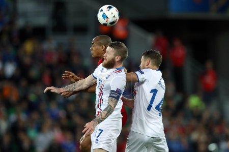 EURO 2016 - FRANCE 10 MATCH BETWEEN PORTUGAL VS ISLAND