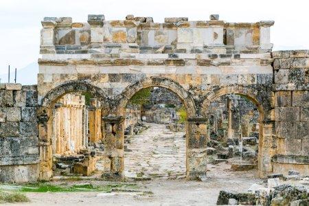 Antique arch ruins