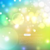 Fairy bokeh lights background