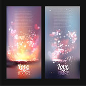 Valentine Day Vertical Banners