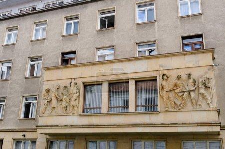 Bratislava communist sculptural relief