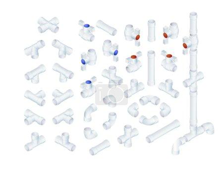Isometric Plumbing Elements