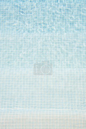 Photo for Swimming pool water background - Royalty Free Image