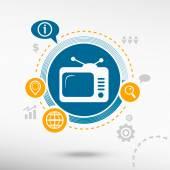 Televise Creative design elements
