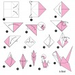 Animal toy cartoon cute paper steps origami...