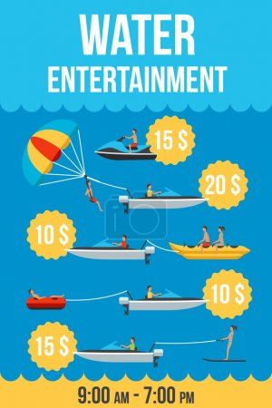 Water entertainment price list