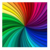 Rainbow Spiral Background