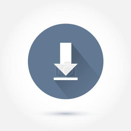 White download icon
