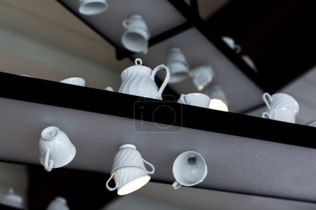 Original decorative lamps in cup shapes