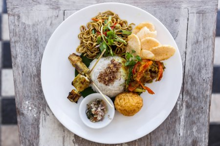 Indonesian traditional meal