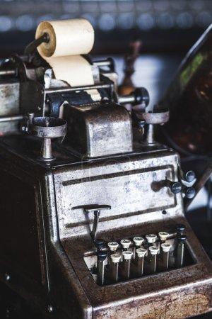 Old primitive calculator