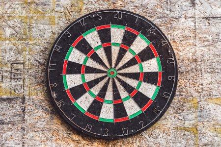 Old target for darts