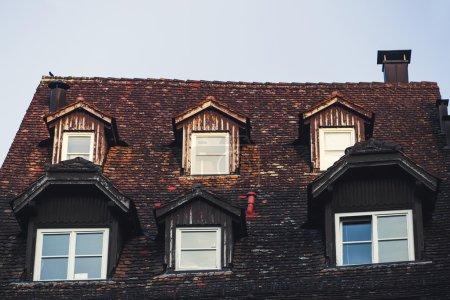 Old european architecture
