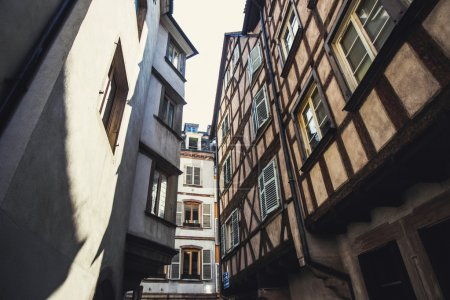 Narrow streets of the old Europe