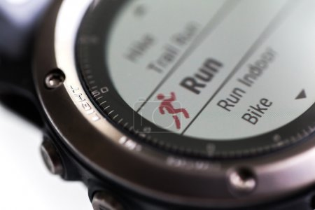 Fitness tracker with running function