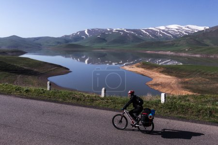 Travel in Armenia on bicycle