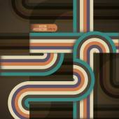 Abstract background with retro design