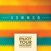 Summer background design Vector illustration