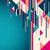 Abstract layout with colorful design