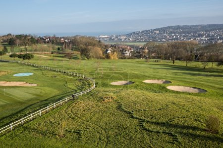 Golf course in Deauville