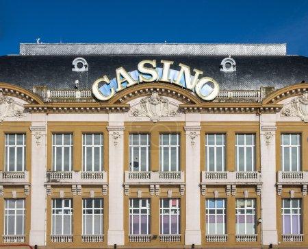 Casino sign in Trouville