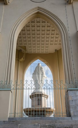 The statue of our lady of la Motte