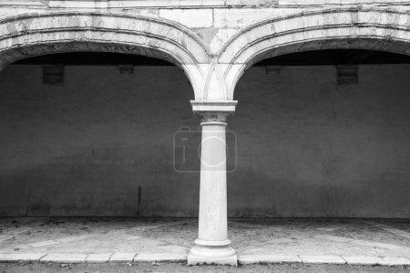 Dorian style column