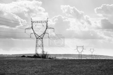 Electricity posts in france